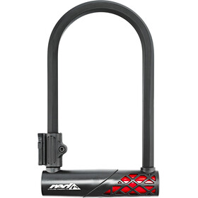 Red Cycling Products Ultimate U-hexagon Lock - Antivol vélo - rouge/noir